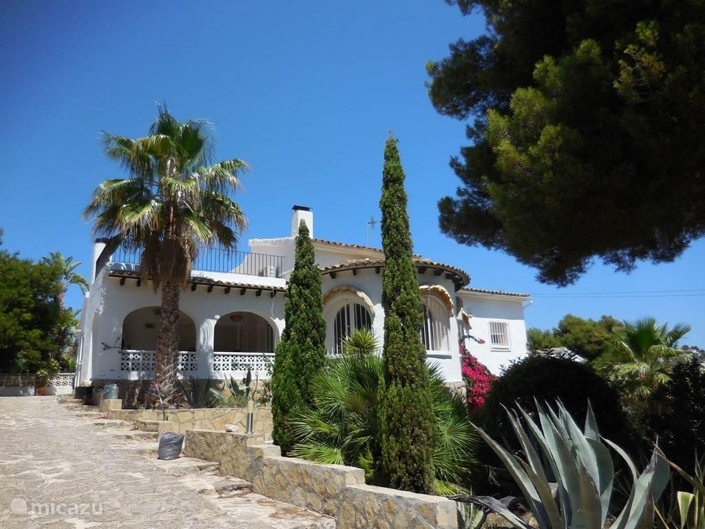 Vakantiehuis Spanje, Costa Blanca, Moraira villa Nuestra hermosa casa