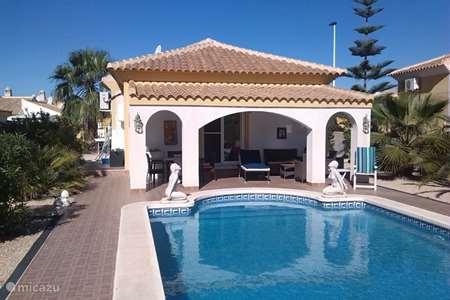 Vakantiehuis Spanje, Costa Cálida, Mazarrón – villa Panorama