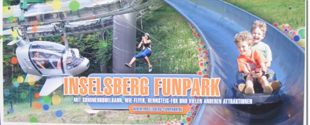 Super fun for young and old, Funpark Inselberg