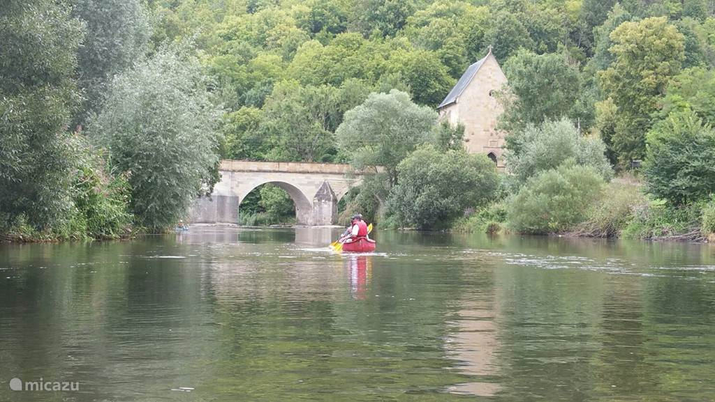 Canoeing on the Werra