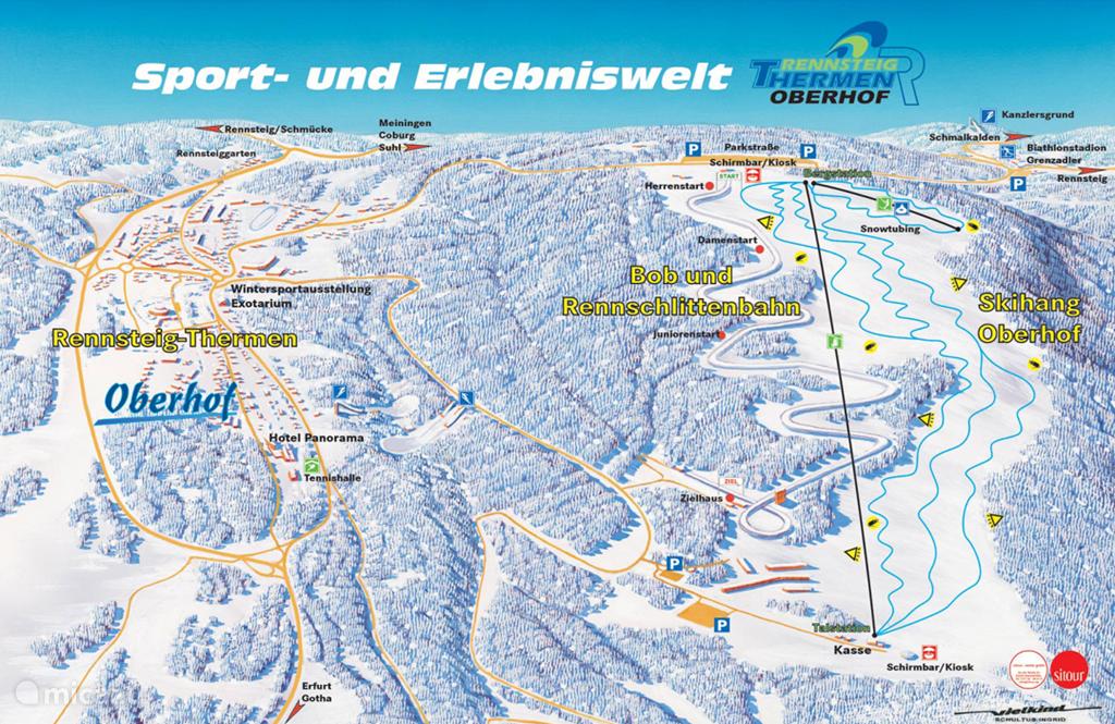 Ski area Oberhof