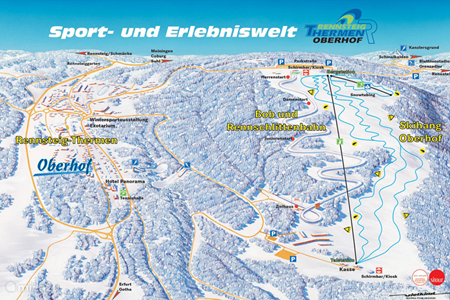 Ski gebied Oberhof