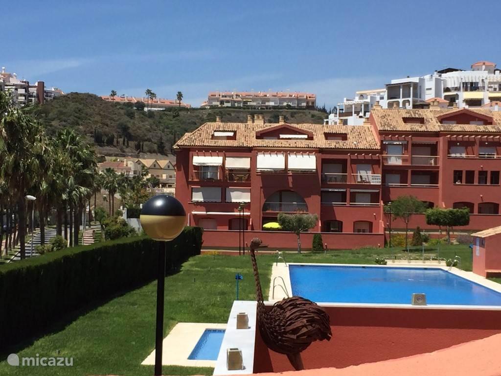 Vakantiehuis Spanje, Costa del Sol, Benalmádena Costa appartement Zonnig appartement aan het strand