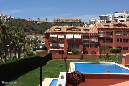 Vakantiehuis Spanje, Costa del Sol, Benalmádena appartement Zonnig appartement aan het strand