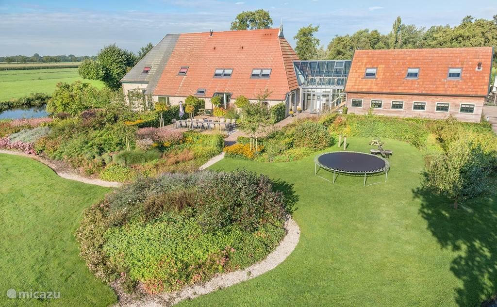 Vacation rental Netherlands, Friesland, Gorredijk holiday house Peat Hoeke