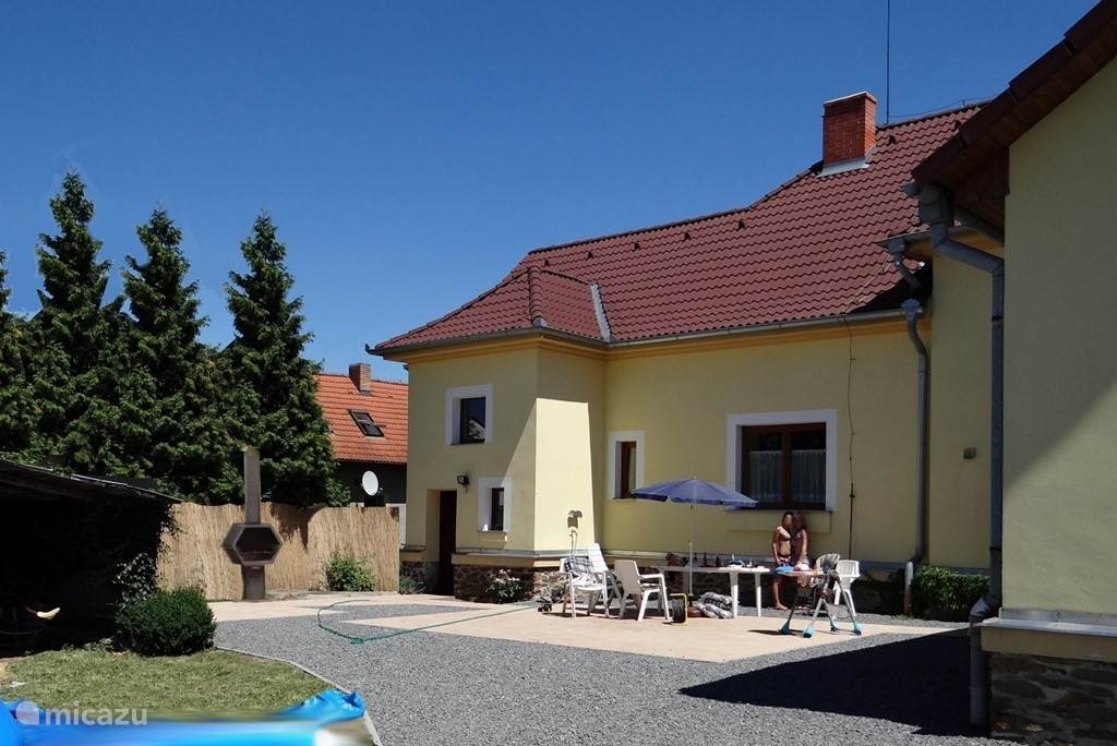 Vacation rental Czech Republic, South Bohemia, Bechyne villa Skolupa