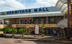 De grootste mall in Suriname