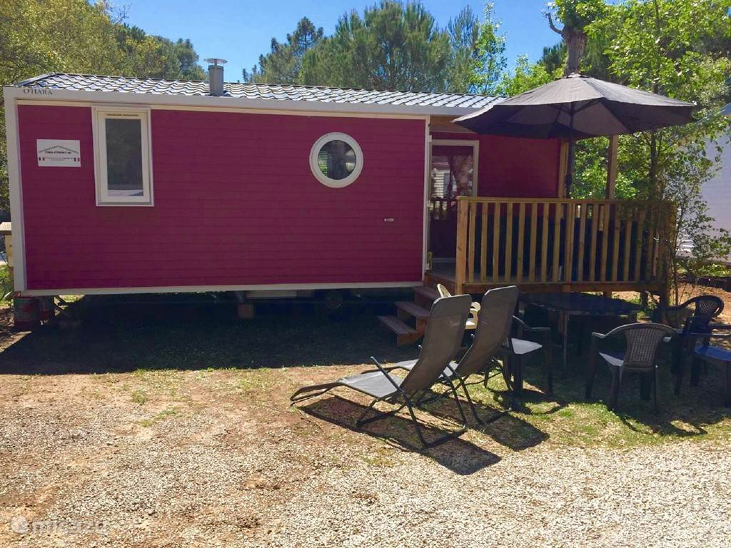 Vacation rental France, French Riviera, Roquebrune-sur-Argens - mobile home Luxury chalets Camp Lei Suves 4 ****