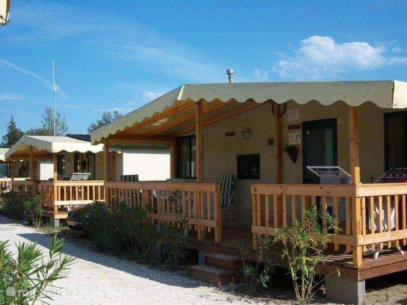 Vacation rental Italy, Tuscany, Viareggio chalet Chalets aan Sea - Viareggio Tuscany