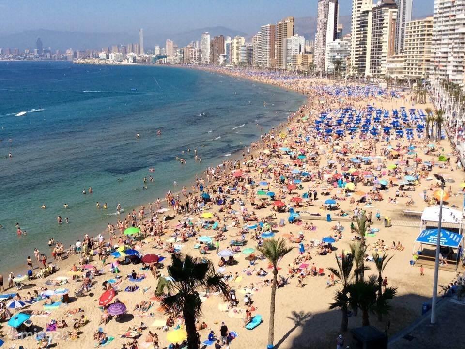 Vakantiehuis Spanje, Costa Blanca, Benidorm - appartement Super appartement 10 meter van zee