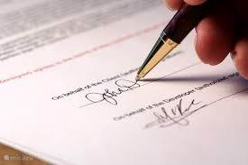 Rental agreement and Houserules