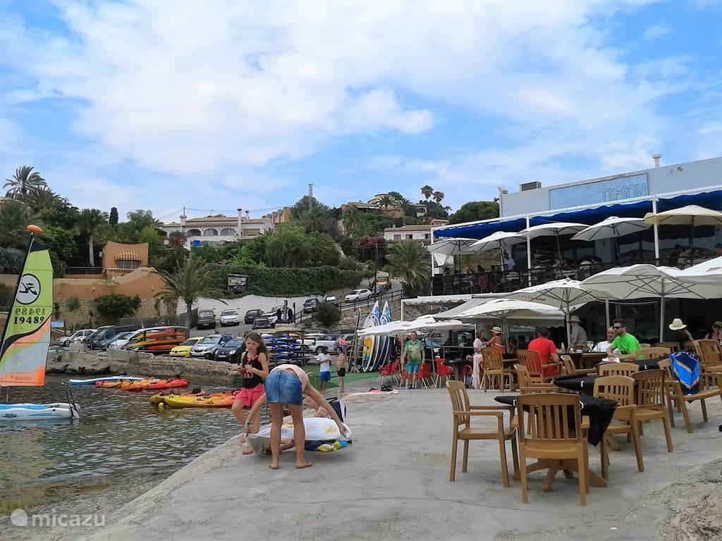 restaurant(s) aan zee (400 m)