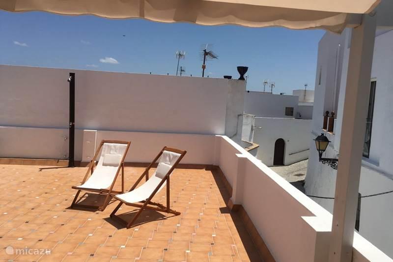 Vakantiehuis Spanje, Andalusië, Vejer de la Frontera Stadswoning Casa Azulen