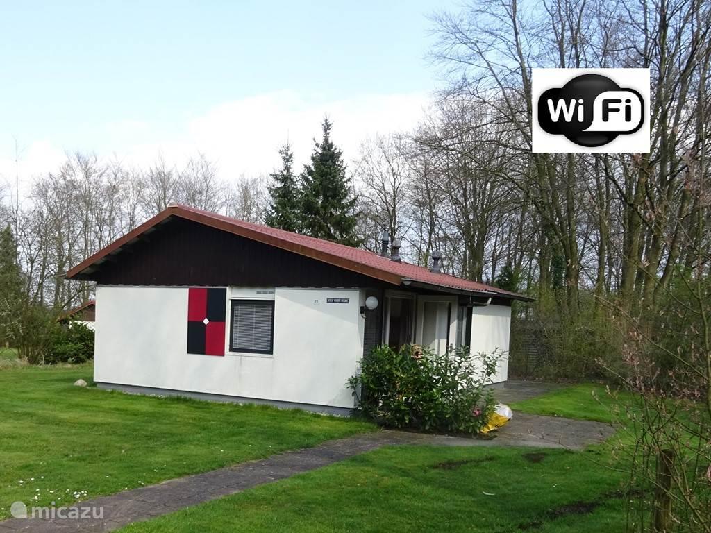 Vakantiehuis Nederland, Drenthe, Exloo - bungalow Huisje Woeste Wolden