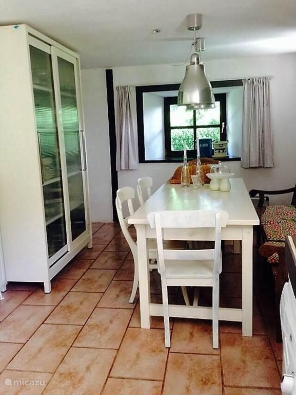 De keuken van Maison Fleurie.