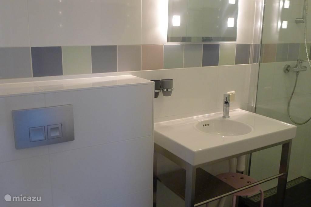 badkamer (overal vloerverwarming)