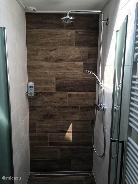 Badkamer met rainshower.