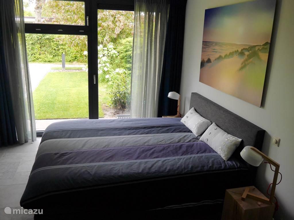 Masterbedroom met 'groen' uitzicht
