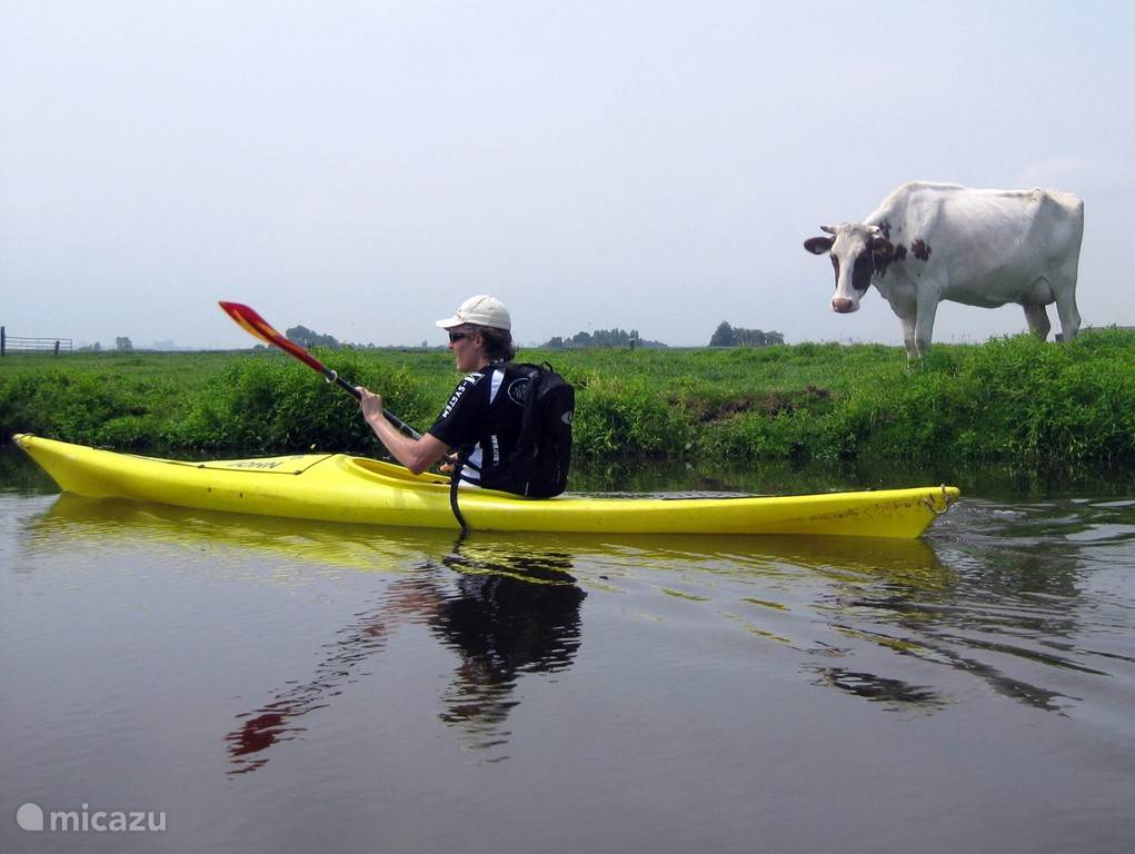 Kano varen in Groningen