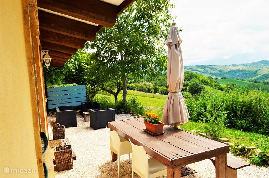 Vakantiehuis Italië, Marche, Penna san Giovanni Vakantiehuis Villa RIMO - Bungalow Casa Vista