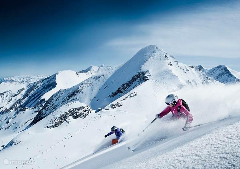 Prachtige pistes voor de echte liefhebber van skiën en snowboarden.