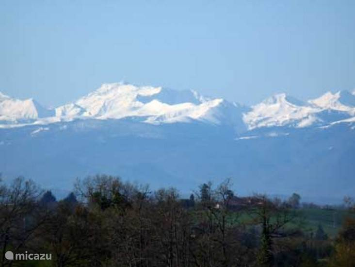 View of the Pyrenees