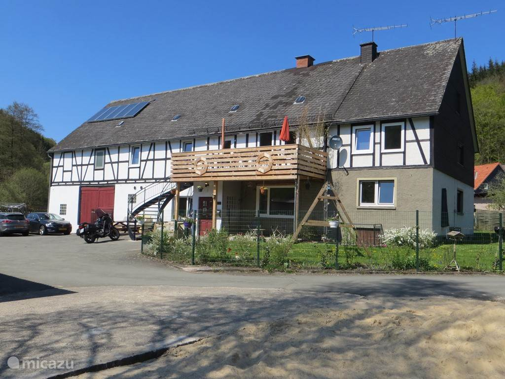 Vacation rental Germany, Sauerland, Medebach farmhouse Haus am wilde Aar 12-16 people