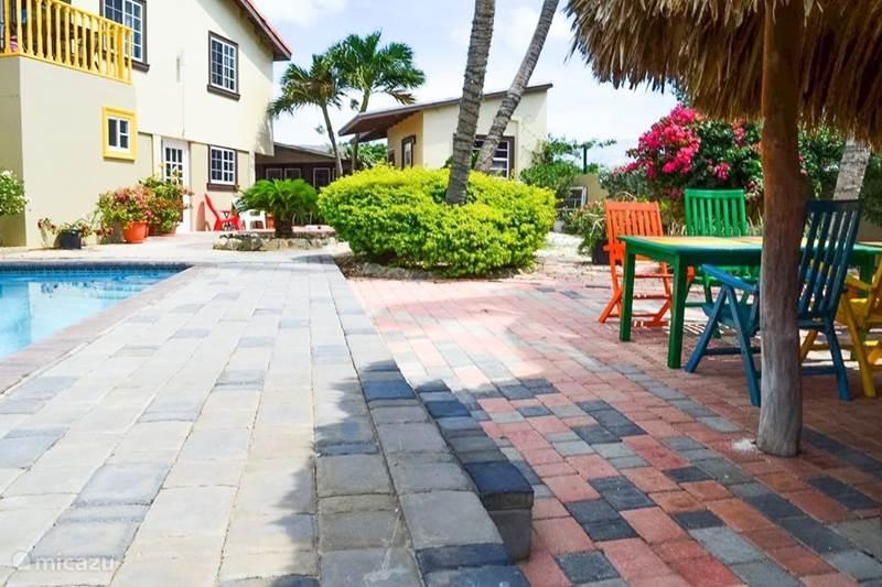 Vacation rental Aruba, Paradera, Paradera Studio Central resort 'La felicidad' Ellis