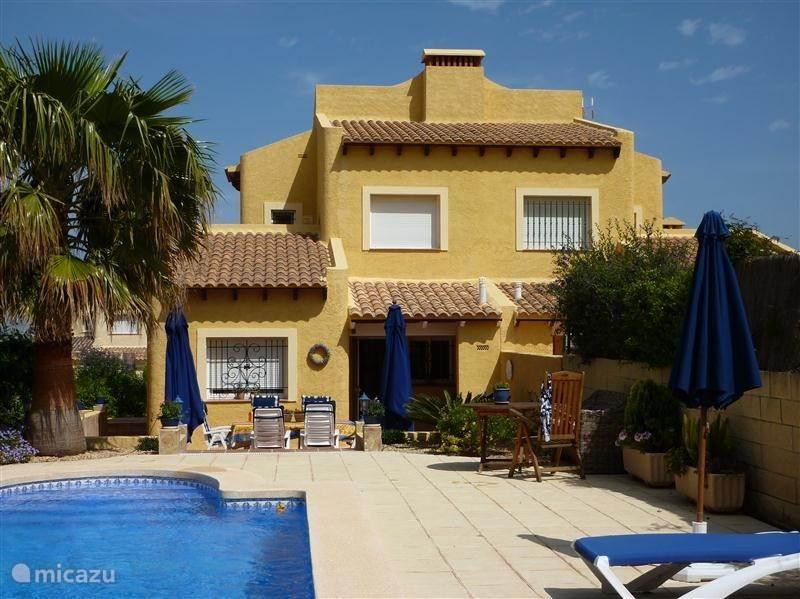 Vakantiehuis Spanje, Costa Blanca, La Nucia - villa Casa la Colina