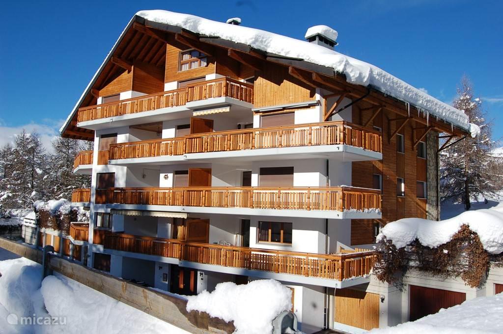 Vakantiehuis Zwitserland, Wallis – appartement Saturne A