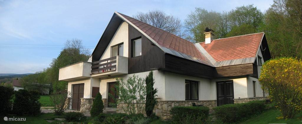 Vacation rental Czech Republic – villa Villa Lanov