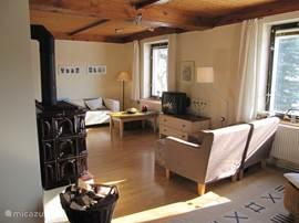 Villa villa lanov in lanov u vrchlabi reuzengebergte tsjechi huren - Woonkamer beneden meubeldesign ...