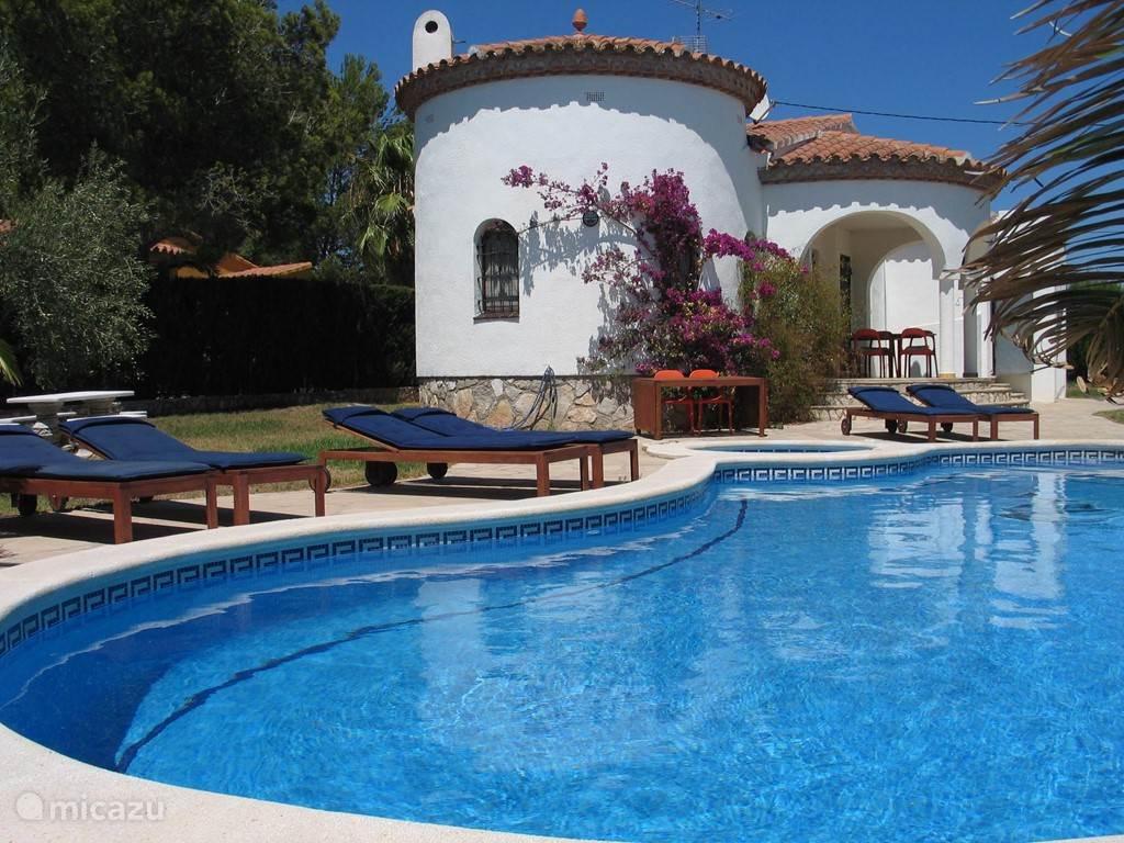 Vakantiehuis Spanje, Costa Dorada, L'Ametlla de Mar - villa Villa TSJANY
