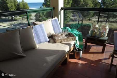 Vakantiehuis Spanje, Costa Dorada, L'Hospitalet de l'Infant appartement Beachappartement The Lodsh
