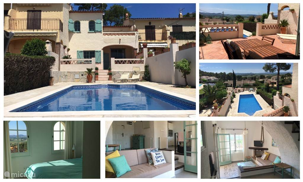 Vakantiehuis Spanje, Costa Brava, L'Estartit - vakantiehuis Casa la Colina