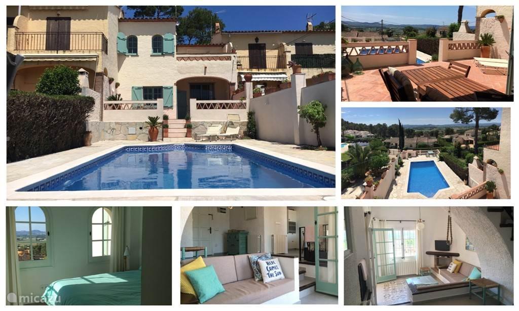 Golf, Spanje, Costa Brava, L'Estartit, vakantiehuis Casa la Colina
