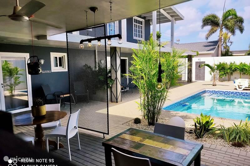 Vacation rental Aruba, Noord, Eagle Beach Studio Studio My Colours with pool