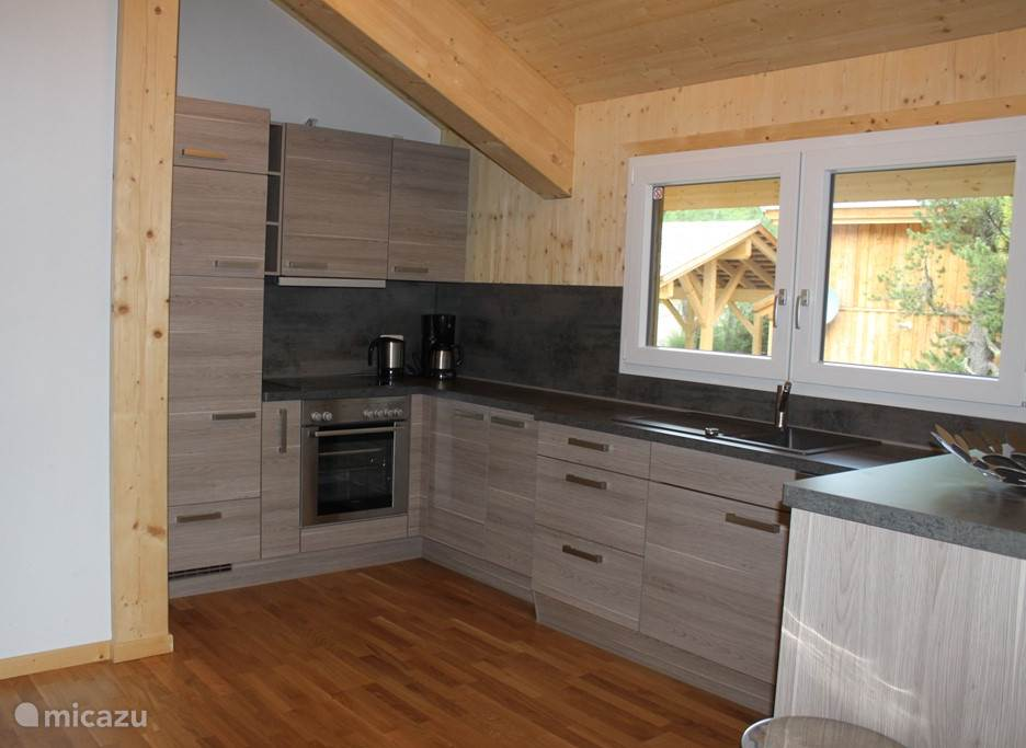 a spacious kitchen fully equipped