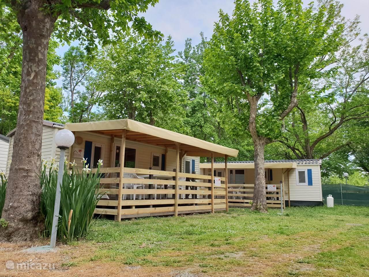 Vacation rental Italy, Liguria, Sarzana mobile home Camping River mobile home Liguria