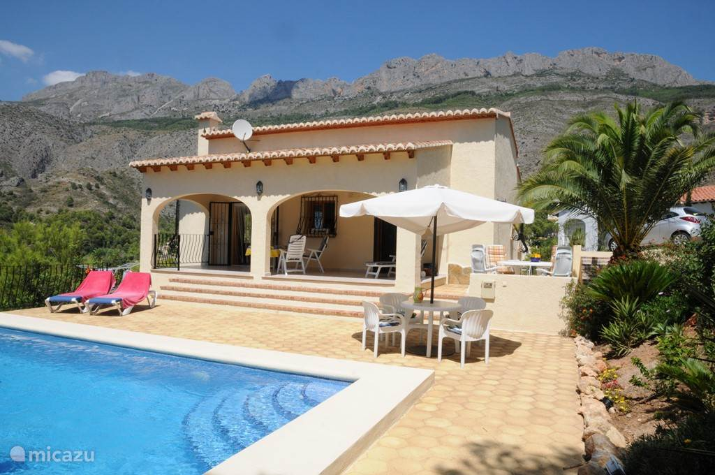 Vakantiehuis Spanje, Costa Blanca, Altea la Vieja villa Casa Escluesa