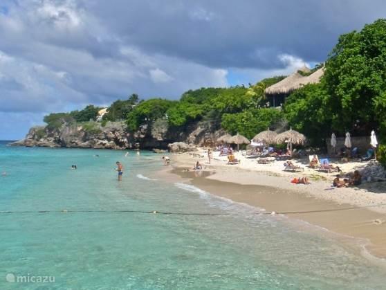 Strand Playa Kalki  4 min lopen vanaf het appartentement