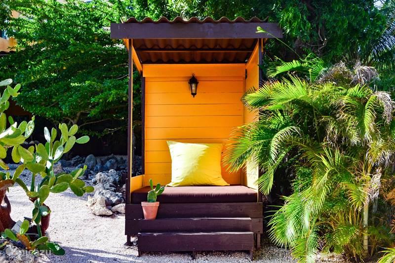 Vakantiehuis Curaçao, Banda Abou (west), Sint Willibrordus Appartement Garden Bungalow Jan Kok Lodges