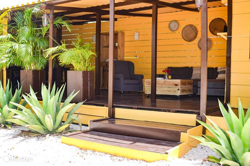 Vakantiehuis Curaçao, Banda Abou (west), Sint Willibrordus Appartement Garden Apartment Jan Kok Lodges