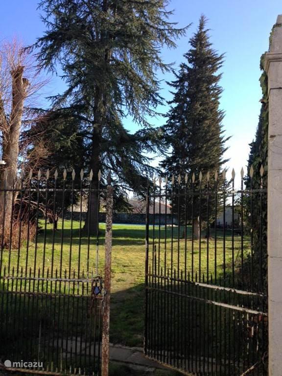 De poort naar de tuin