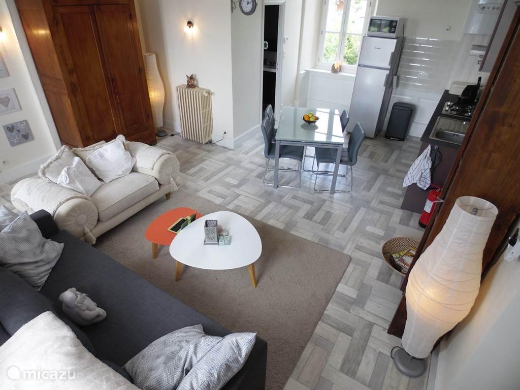 woonkamer/keuken (gratis wifi in huis en tuin)