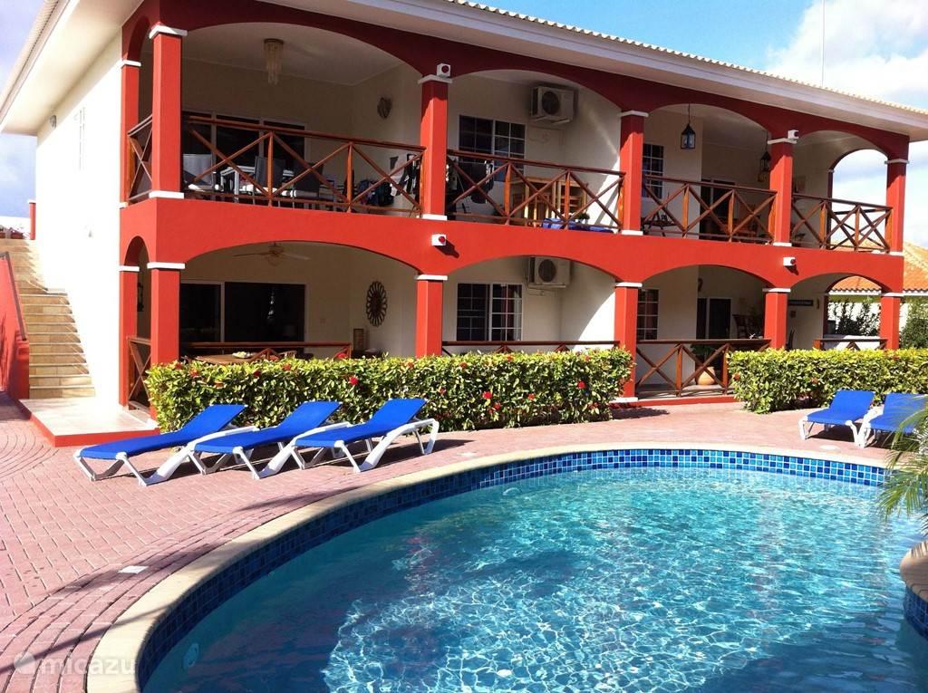 Vakantiehuis Curacao, Curacao-Midden, Koraal Partier appartement Seru Hulanda apartment 10