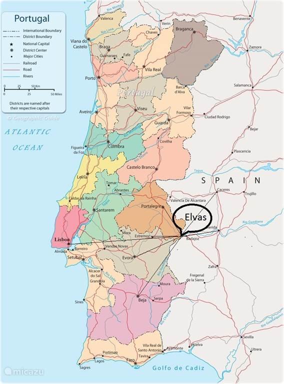 Elvas in Portugal