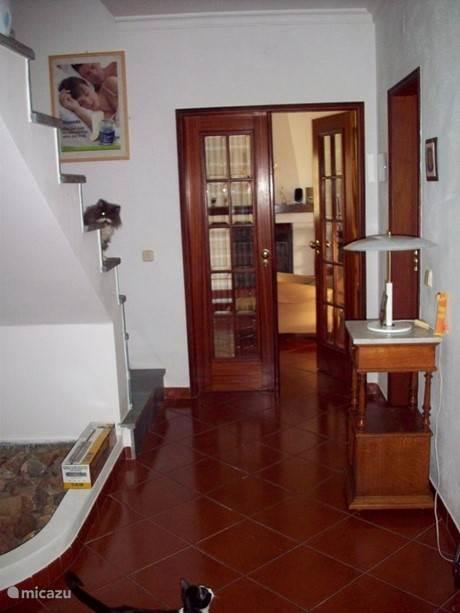 Hall aan de voordeur van de Quinta