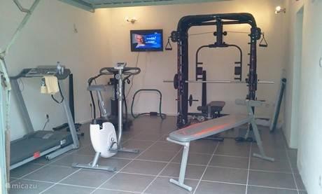 Fitnesszaaltje