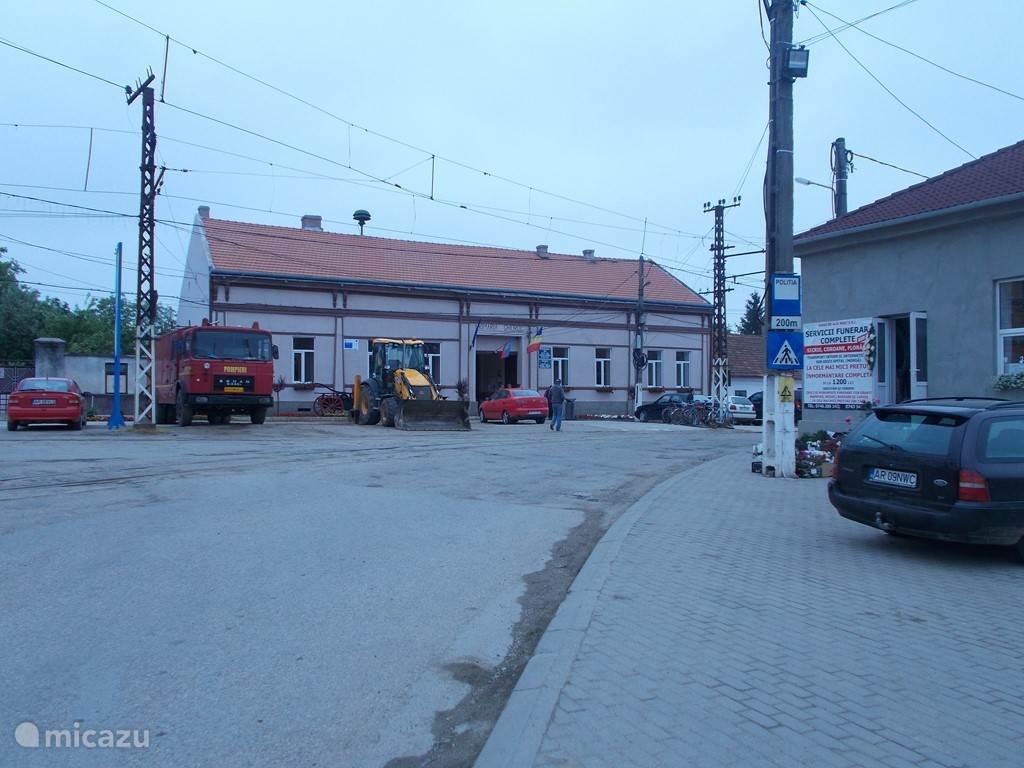 Het gemeentehuis ( primaria)